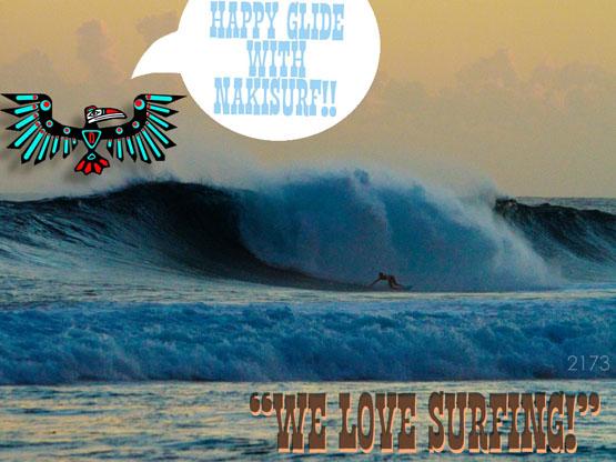 "NAKISURFが『ネットショップ大賞』受賞!!_文学的に""WE LOVE SURFING!""_(1400文字)"