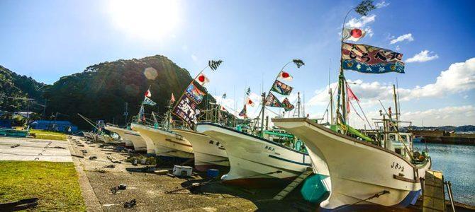 正月にはためく大漁旗_8&インドと、最近のいろいろ_(2039文字)