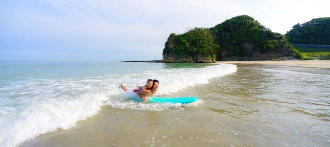 伊豆入田浜でハッピーサーフィンの続き_5月のフォルダーより_(1520文字)