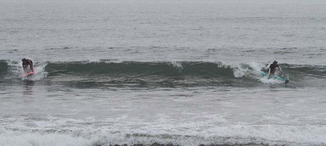 千葉一宮の無人極上波『人は来ないが良い波が来るところ』詳細をキャッチサーフ種さんと_ケンタとニコリちゃんとの都内でのいろいろ_(1881文字)