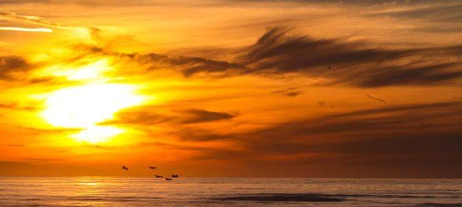北への旅が成就した日_かけがえのない夕陽_(1232文字)
