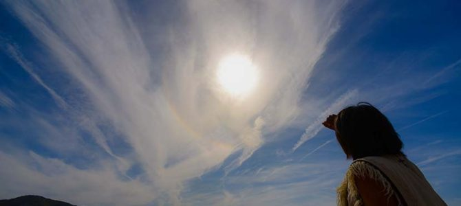 天使鳥の光輪と、初夏キャッチサーフに南伊豆風小サバ手を添えて_(1520文字)