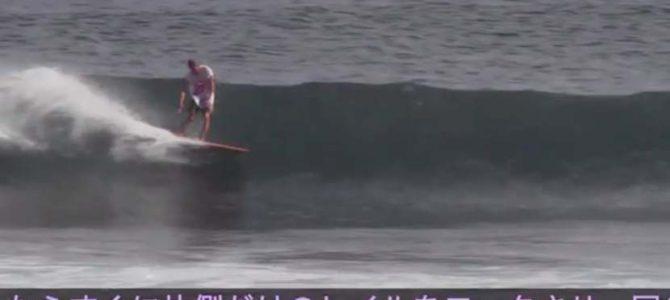 【NAKISURFサーフスクール、テクニック編動画】_バランガンの波に思い出す奄美波_(701文字)