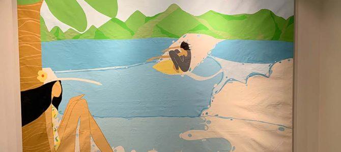 【サーフィン研究所】伊豆のアンディ・デイビスのイベント到着!_ラッコ鍋にサザエさん_赤影タキビ神_(1449文字)
