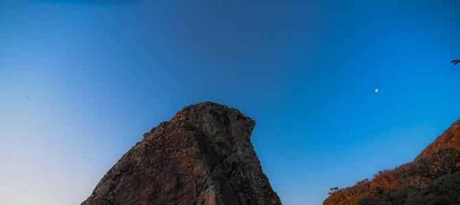 【サーフィン研究所】空海修行地にいた龍くん_室戸サーフィンはセブン・シックスで_月とカルボナーラと、ホタテのインフルエンザ_(909文字)