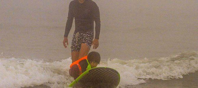 【サーフィン研究所】寄り道1000km_アメリカの長距離ドライブ_ショータの初サーフィン!!!_(2006文字)