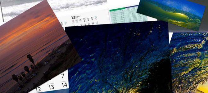 【サーフィン研究所特大号】2021カレンダー製作中です!_岬町波にエンゲツサッポーのシャッチョー_(1827文字)