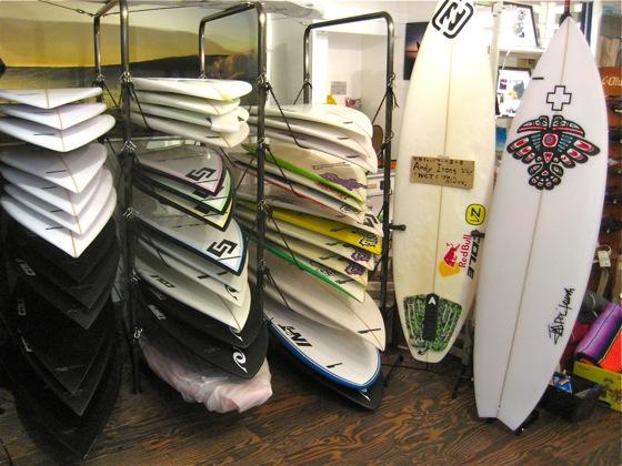現在ショールームで販売しているボードリスト(2009.6.25更新)