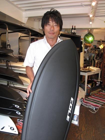 現在ショールームで販売しているボードリスト(2009.8.13更新)