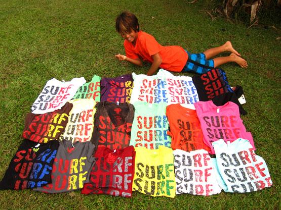 SURFSURFSURF Tシャツ発売開始です!