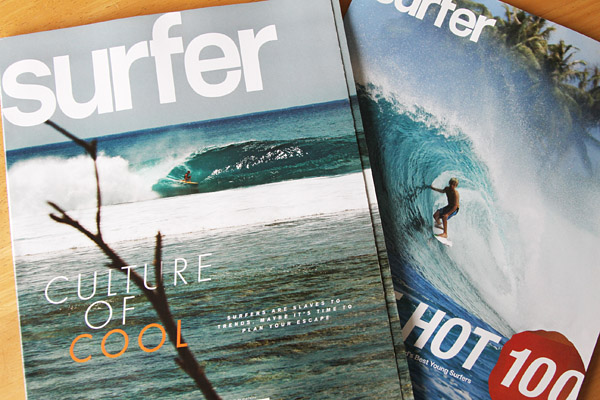 "『surfer』マガジン2012年5月号、特集は""CULTURE OF COOL"""