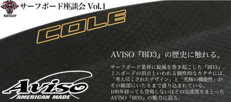 【NAKISURFサーフボード座談会 Vol.1】~AVISO『BD3』を愛する船木への「15」の質問~