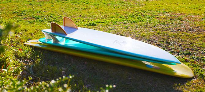 ジコマン三刀流のすすめ_サーフボード三本で波乗りの楽しさは無限大