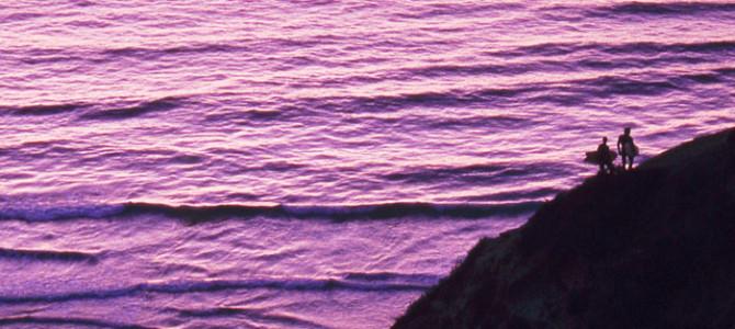 希望あふれる海、笑顔で波に乗るということ。