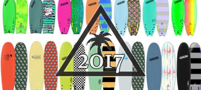 先行予約特典がヤマ盛り!!CATCH SURF 2017年ニューモデル先行販売スタート!!