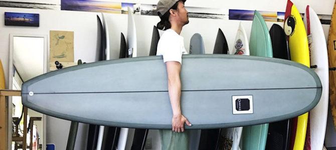 """【水曜日のオシイタ】即納可能!!CANVAS『Mini Noserider 6'12"""" 6'12"""" x 22″ x 2 3/4″』千葉ストックボード"""