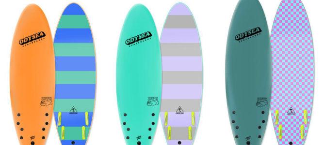 【CATCH SURF入荷情報】ショート風味のライディングが楽しい「スキッパーフィッシュ」と「スタンプ」が少量入荷しました!