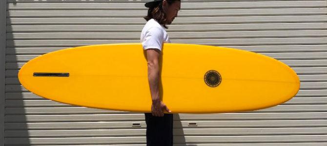 【水曜日のオシイタ】Tyler Warren Shapes『ファンクション ハル』※千葉ストックボード シングルフィンのリラックススタイルで夏波を優雅にグライド!!