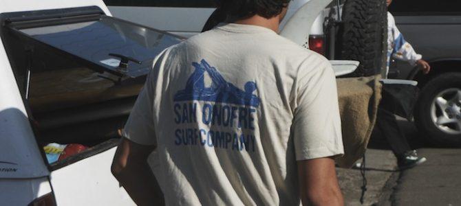 【新着アイテム】SAN ONOFRE SURF COMPANY新作アパレル入荷デス!