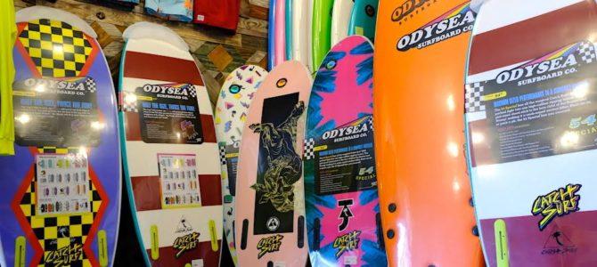 【CATCH SURF】即納可能&先行予約ボードが全国送料無料でお届け可能!!