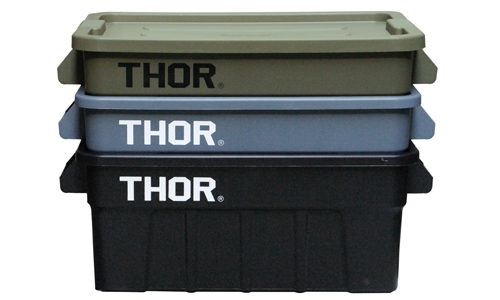 【THOR】 Large Totes With Lid (53L)と(75L)が入荷しました!