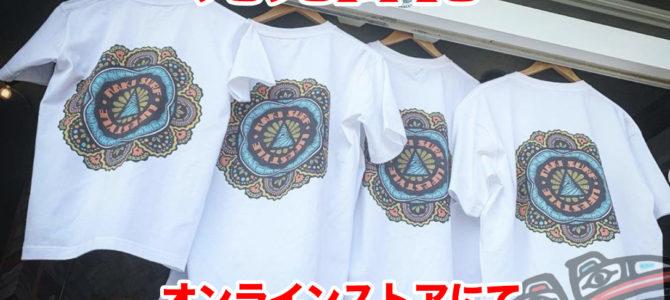 "【NAKISURF×TYLER WARREN】 オリジナル""曼荼羅""Tee_ご好評につき再販決定!!"