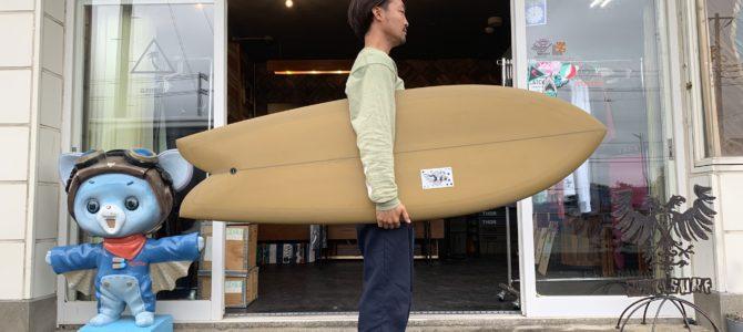 先日CAより到着したカスタムボードをご紹介☆ ※本日、10/25(金)は店休日となります。