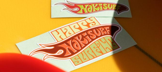 NAKISURF2020オリジナルステッカー販売開始★
