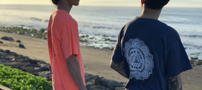 "【NAKISURF×TYLER WARREN】 オリジナル""曼荼羅"" Color Tee 発売開始★"
