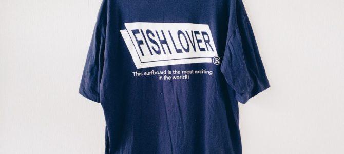 5/16(土)FISH LOVER(オサカナフェスティバル)ボックスシルエットポケTEE 再入荷★