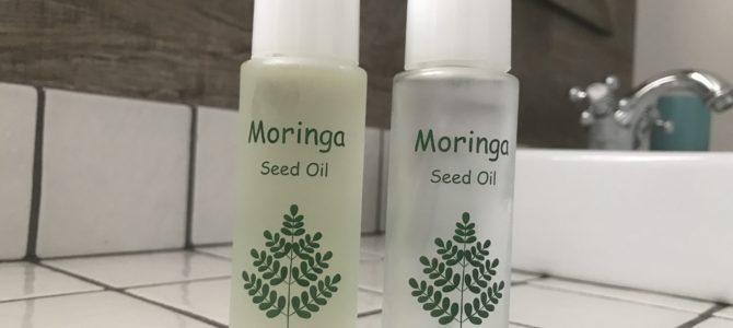 お肌の乾燥にモリンガオイルは効果的♪