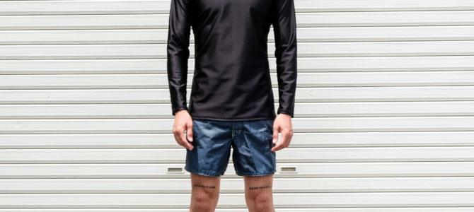 超ウルトラ耐久撥水J-SKINジャージを使用したナキサーフオリジナル L/S サーフシャツ発売開始☆