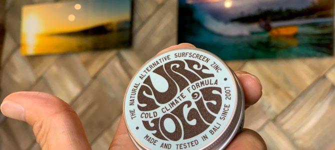 SURF YOGIS(サーフヨギ・ナチュラルサーフスクリーン)【春・秋・冬(10月~5月前後)】入荷★
