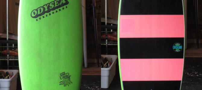 10月7日(水)【CATCH SURFの中古ボード】2本オンラインストアにアップしました★