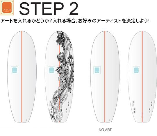 STEP3 アートを入れるかどうか?