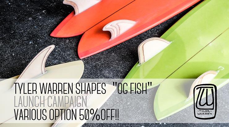 OG FISH 取扱い記念キャンペーン
