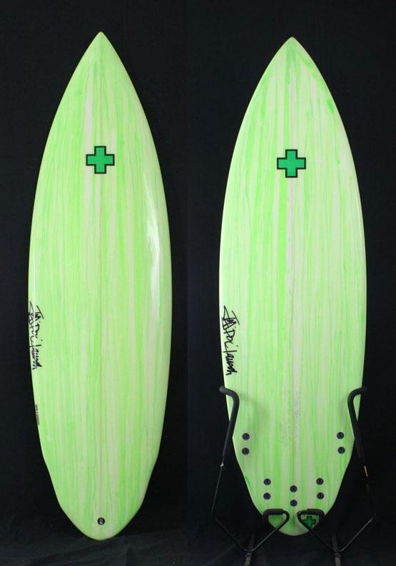 "【Surf Prescriptions (DOC)】NEW TOY 5'10"" x 20-1/2″ x 2-11/16″ EPS、FCS 5フィン"