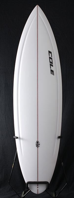 【COLE】X10, Polyester, 6'0″ x 19-1/8″ x 2-7/16″_波乗りの新たな扉を開けてしまったようです。まさにマジックボードとなりました