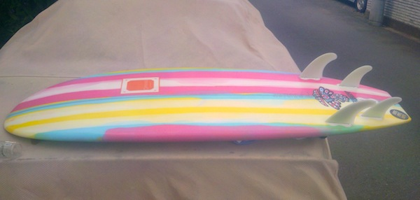 【CANVAS】The Butter Zone, 5'2″ x 21″ x 3″, Polyester, FCS 5FIN:Iさま …あらゆるコンディションで楽しめるボード