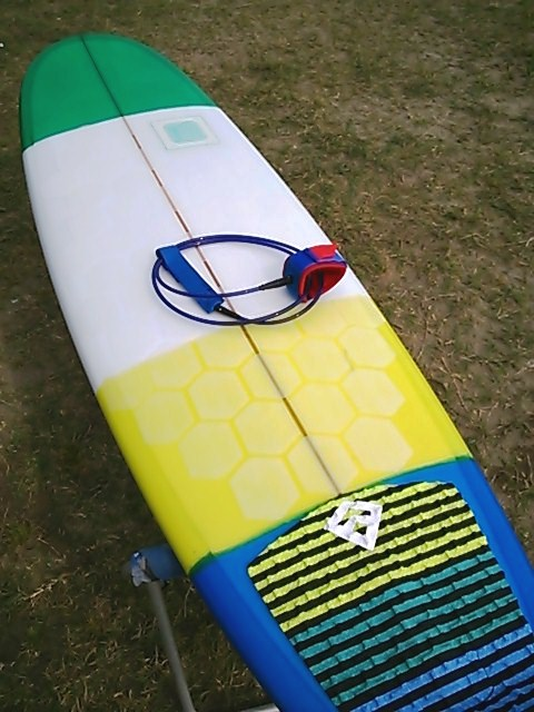 【CANVAS】Mini Noserider, 6'12″ x 22-1/4″ x 3″, Polyester, Box + FCS Stabilizer:IWTKさま