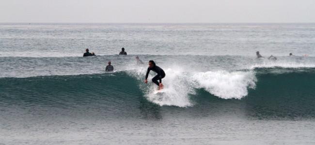 【NATION】NEW TOMORROW 2014_5'8″ × 19 1/4″ ×2 5/16″_厚めの波でもぐんぐん加速。水流の抜け感は病み付きになります!(by スタッフ)