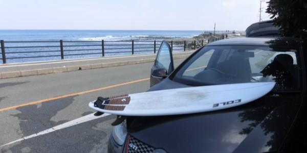 【COLE】CURVE BALL  5'6″ x 19 3/4″ x 2 7/16″_愛車の塩まみれのGOLF GTIに良く似た感じですね♪