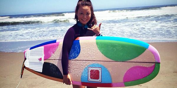 """【CANVAS】The Butter Zone 5'6″ x 19-3/4″"""" x 2-3/8″_いっぱい乗れるようになってサーフィンが楽しくなりました"""