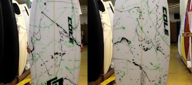 【COLE】CURVE BALL  5'5″ x 19-3/4″ x 2-5/16″ _これからのサーフィンライフが楽しみです。