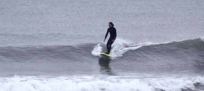 【CATCH SURF】ODYSEA LOG7'0″で小波遊び♪(byスタッフ)