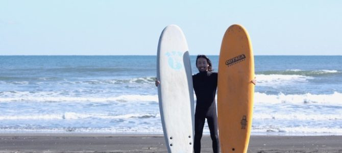 【CATCH SURF】小波でBARRY MCGEE & PLANKに乗ってきた!(byスタッフ)
