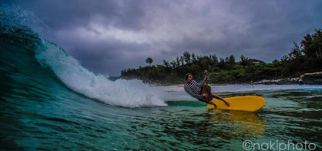 【NAKIPHOTO】サーフィンと音楽が大好きな家族のお祝いと自分用に♪